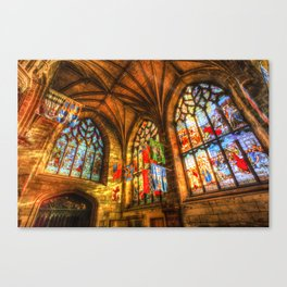 Evening Sun Cathedral Canvas Print