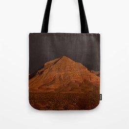 Desert Alpenglow Tote Bag