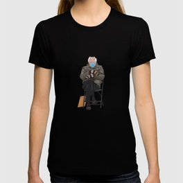 Bernie In Mittens T-shirt