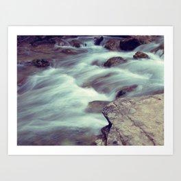 Djur-Djur Waterfall VIII Art Print
