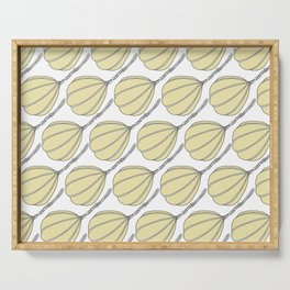 Provolone (cheese pattern) Serving Tray