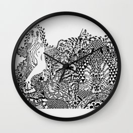 Orchestral Tapestry  Wall Clock