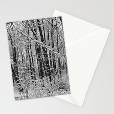 Snow Forest Stationery Cards