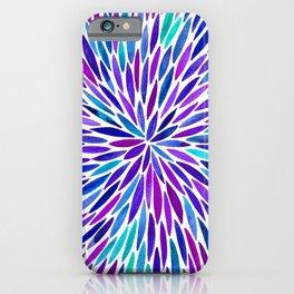 Lavender Burst iPhone Case