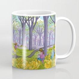 Kites and Daffodils Coffee Mug