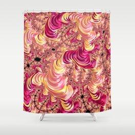 Psychotropic Fractal Shower Curtain