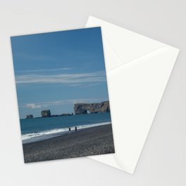 Icelandic Beaches I Have Known Stationery Cards