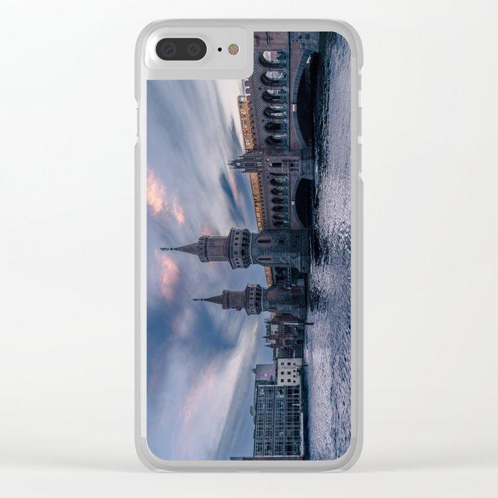 Oberbaumbrücke Clear iPhone Case