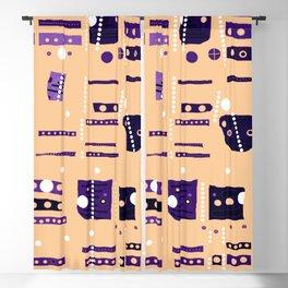 Color square 09 Blackout Curtain