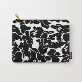 Bape Black x White Carry-All Pouch
