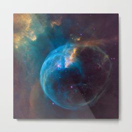 Bubble Nebula (NGC 7635) Metal Print