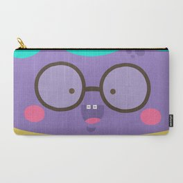 Purple Smile Carry-All Pouch