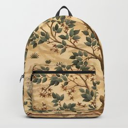 "William Morris ""Tree of life"" 3. Backpack"