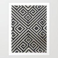 AZTEC N4 Art Print