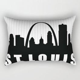 St. Louis Skyline Rectangular Pillow