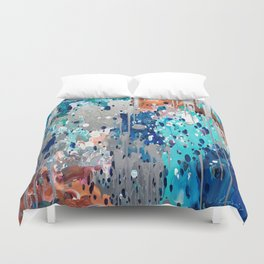 Abstract 187 Duvet Cover