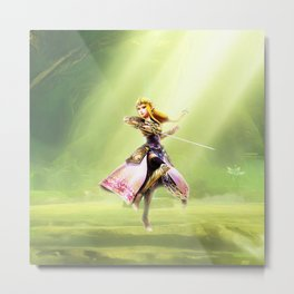 Zelda of princess Metal Print