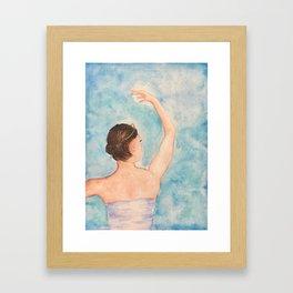 Écarté Framed Art Print