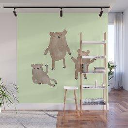 Three Bears Wall Mural