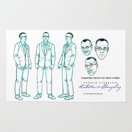 Dean Winters Character Design I Rug