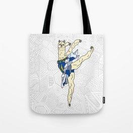 Alpaca Ballerina Tutu Tote Bag