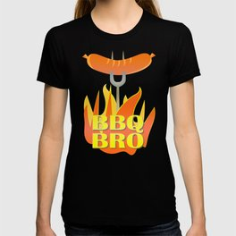 BBQ Bro Your Grill Party Bestie T-shirt