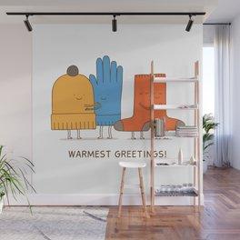 warmest greetings! Wall Mural
