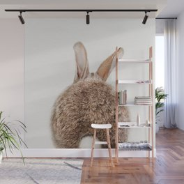 Bunny Tail, Bunny Rabbit, Baby Animals Art Print By Synplus Wall Mural