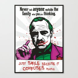 The JokeFather Canvas Print