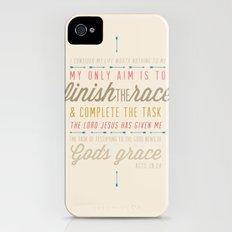 Acts 20:24 iPhone (4, 4s) Slim Case