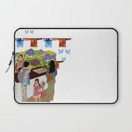 Happy Valley Flower Market Laptop Sleeve