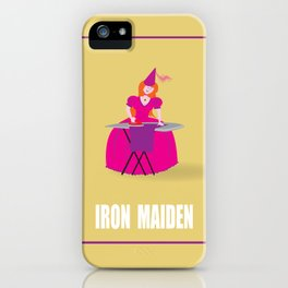 IRON MAIDEN iPhone Case