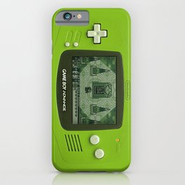 Gameboy Zelda Link iPhone Case