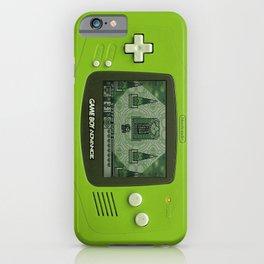 Gameboy Zelda Link iPhone Case