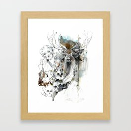 Imperial Stag Framed Art Print