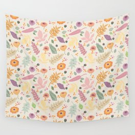 Petty in Pink Design Wall Tapestry