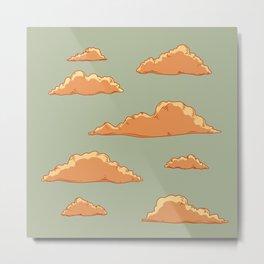 Fairy Tale Clouds Metal Print