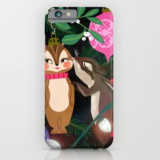 Chipmunk Kisses Holiday Card Slim Case iPhone 6s