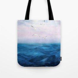 Watercolor Sea 5 Tote Bag