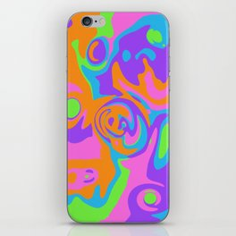 Abstract Tie Dye iPhone Skin