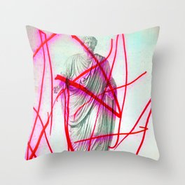 Strike 19 Throw Pillow