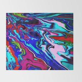 Wet Paint no. 02 Throw Blanket