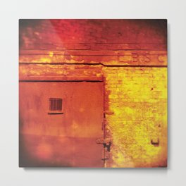 Mind the doors Metal Print