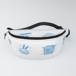 Japapense Menu Fanny Pack