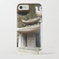 vietnam iPhone & iPod Cases featuring Vietnam Mountainside by Lili Lash-Rosenberg