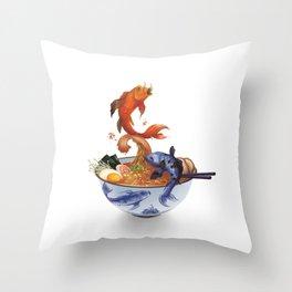 Primordial Soup Throw Pillow