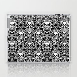 Skull Damask Laptop & iPad Skin