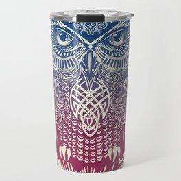 Evening Warrior Owl Travel Mug