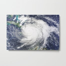 149. Hurricane Matthew Hits Haiti Metal Print