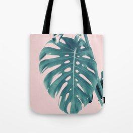 Monstera Delight #3 #tropical #decor #art #society6 Tote Bag